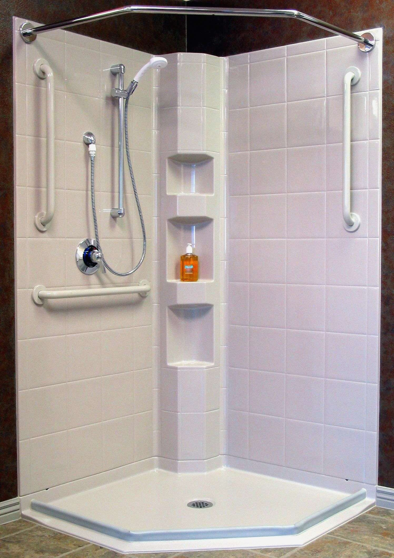 20 Out Of The Box Lowes Shower Panels Corner Shower Stalls Neo Angle Shower Corner Shower Units