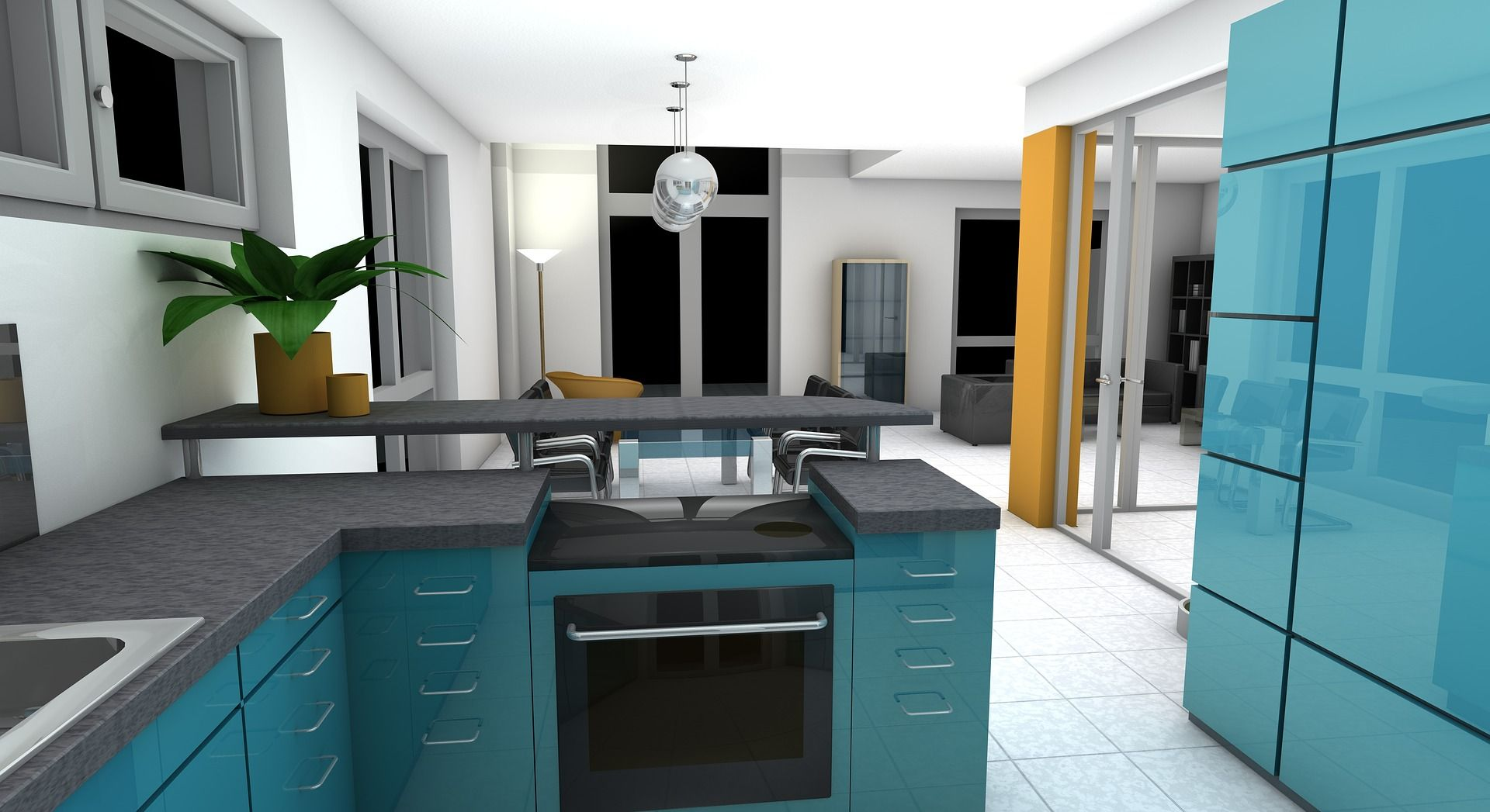 Ways Kitchen Design Help To Keep Your Kitchen Organised