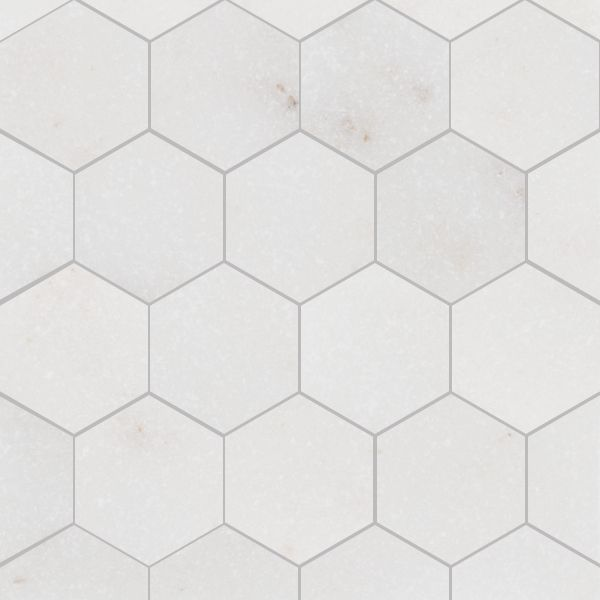Marbre afyon hexagonal tiles how pretty pinterest for Carrelage hexagonal marbre