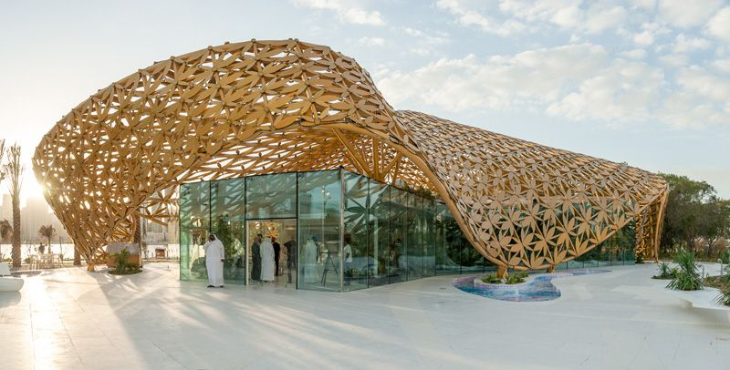 Butterfly Pavilion by 3deluxe - http://www.modernresidentialarchitecture.com/butterfly-pavilion-by-3deluxe