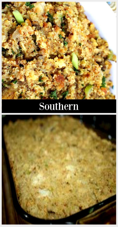 Prepare cornbread dressing