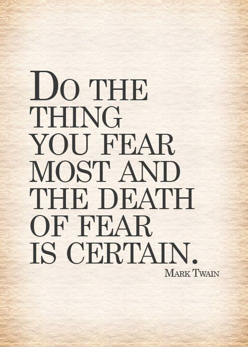 Mark Twain, quotes, about life, do, things, fear, deep | Quotes ...