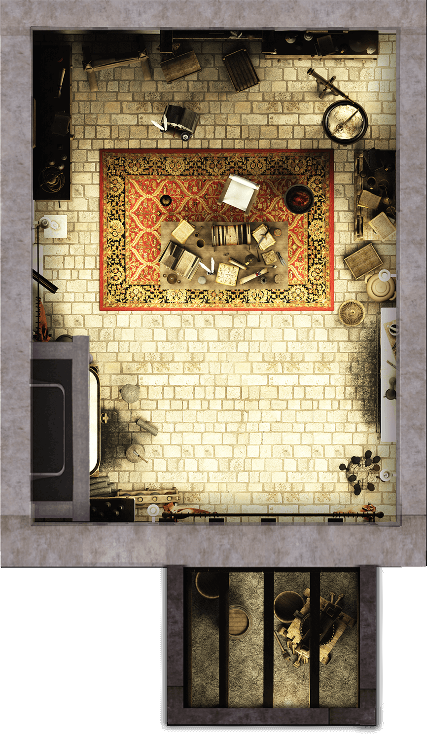 Building Interior W Jail Cell Urban City Tabletop Rpg Maps Fantasy Map Dungeons And Dragons