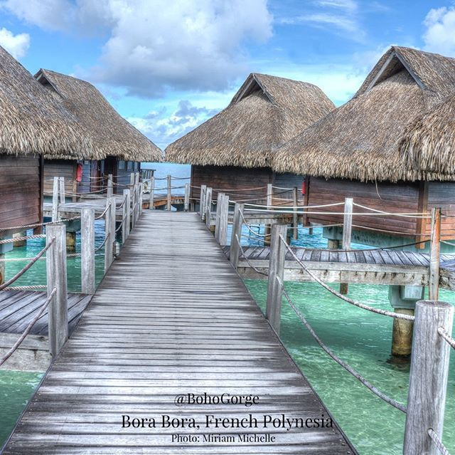 Bora Bora Island Woman: Bora Bora Is Surrounded By Sand-fringed Little Islands And