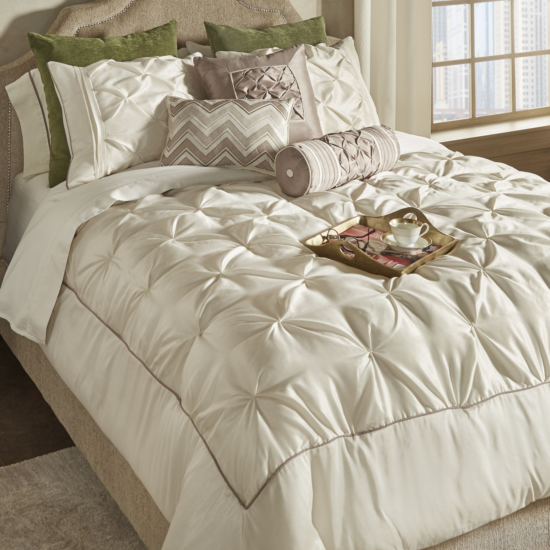 Wayfair basics wayfair basics 7 piece comforter set amp reviews - You Ll Love The Ashton Under Lyne 7 Piece Reversible Comforter Set At Wayfair Great Deals On All Bed Bath Products With Free Shipping On Most Stuff