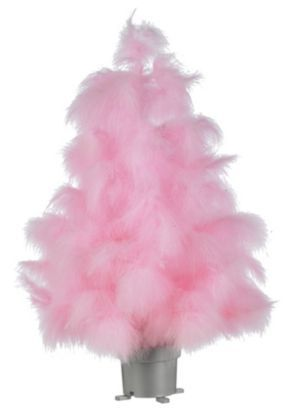 Pink Feather Xmas Tree. | A Pink Christmas | Pinterest | Pink ...