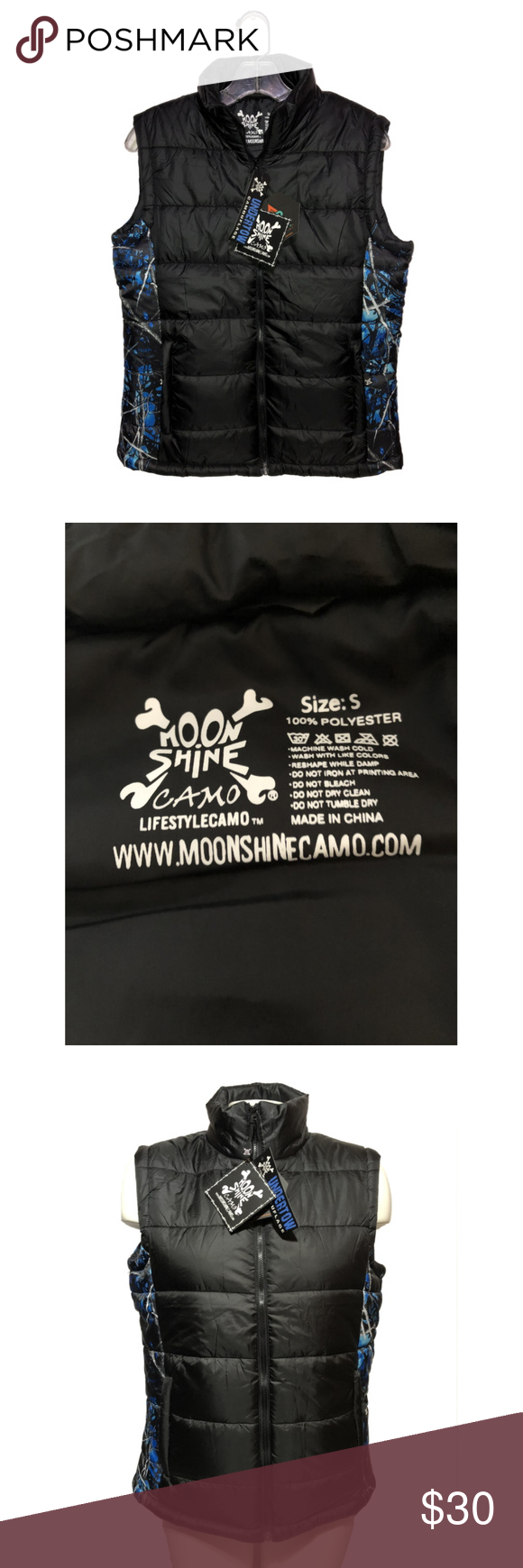 Moon Shine Camo womens Undertow Aircor Vest