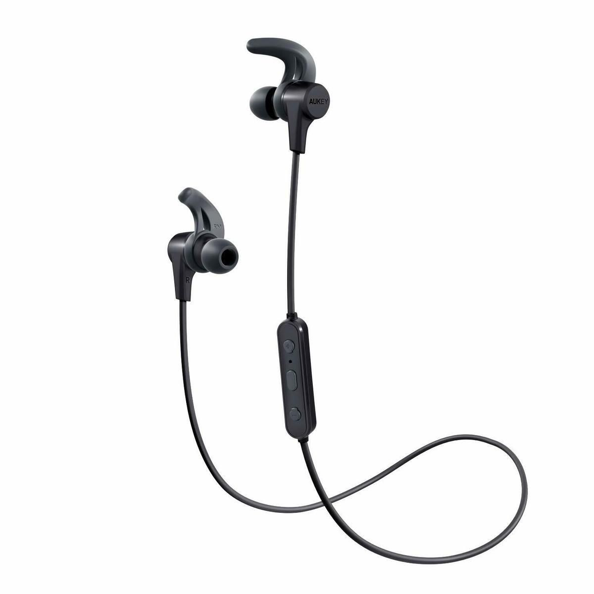 Aukey Bluetooth 4 1 In Ear Kopfhorer Headset Ipx4 Iphone Android Huawei Schwarz In 2020 In Ear Kopfhorer Bluetooth Iphone