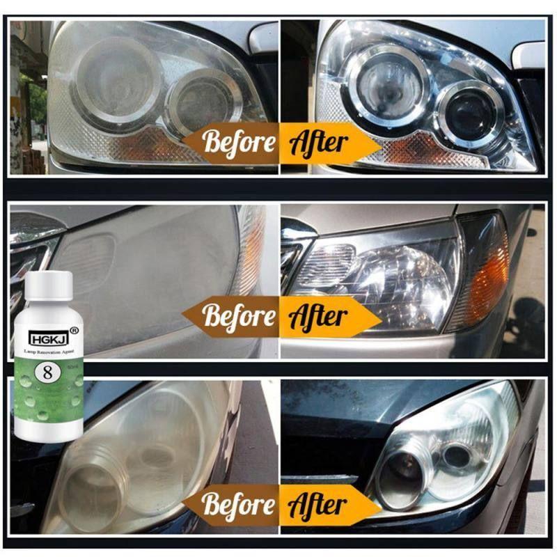 Car headlights restoration kit diy polishing