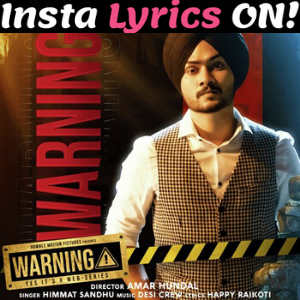 Warning Lyrics In 2020 Mp3 Song Mp3 Song Download Songs
