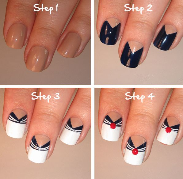 Nail designs you can do yourself manicure con diseo hermosa y hermoso diseo solutioingenieria Choice Image