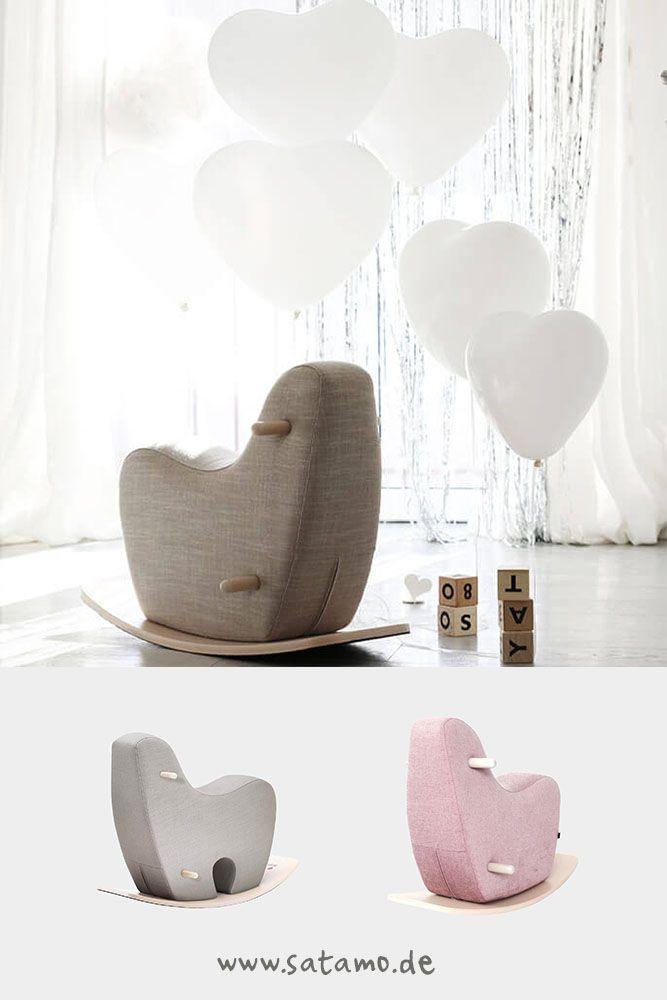 Gentil Schaukelpferd ROCKY Für Ein Modernes Kinderzimmer! Schaukelpferd Design,  Schaukelpferd Grau, Schaukelpferd Kinderzimmer,