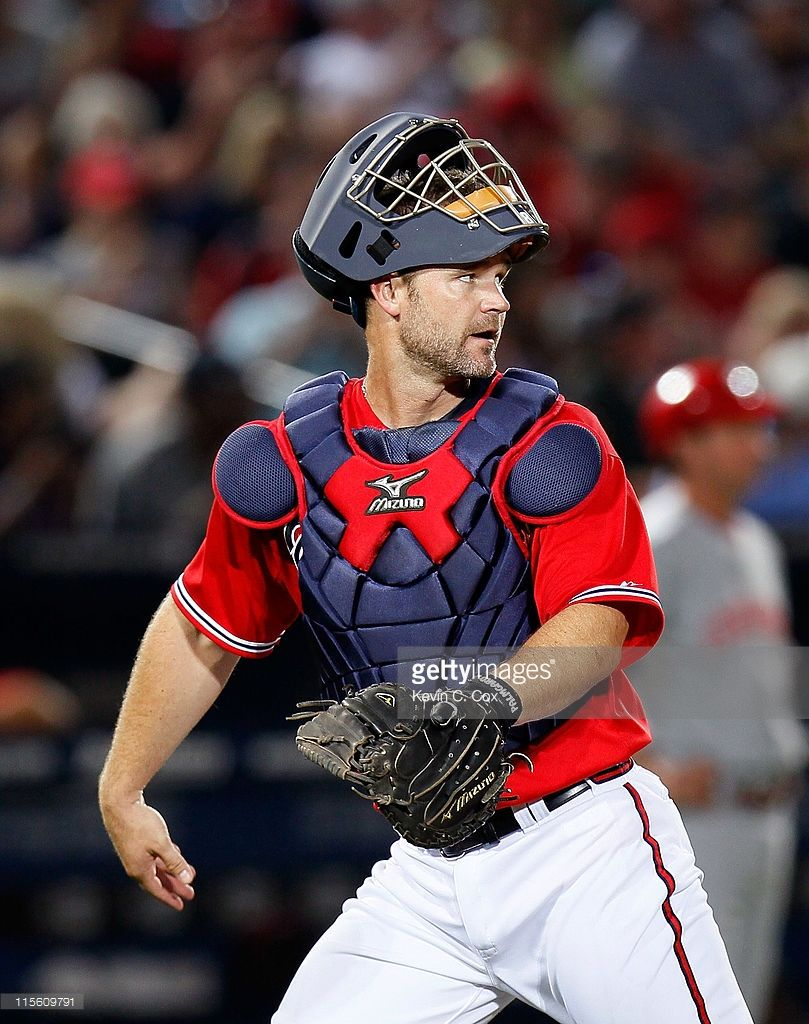 David Ross Of The Atlanta Braves Against The Cincinnati Reds At Atlanta Braves Braves Cincinnati Reds