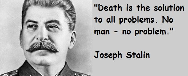 a discussion on the harsh rule of joseph stalin Yes, he was a harsh leader, and the death penalty was common but stalin wasn't some sort of supernatural evil force causing every death ever to happen in the ussr either cm'on baby, eat the rich.