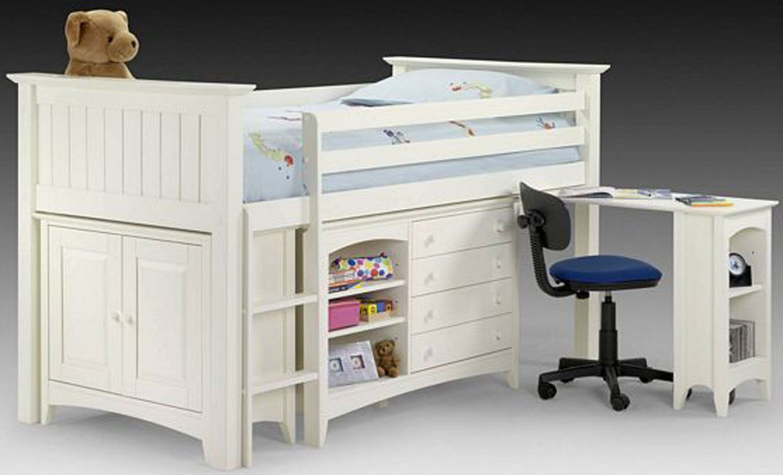 Captain bed dresser shelves desk storage bed ideas pinterest