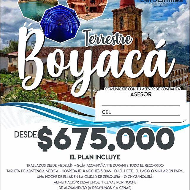 #NosFuimos para #Boyacá  . Más Info  WhatsApp 57 312  #NosFuimos para #Boyacá  . Más Info  WhatsApp 57 312 2738001 . . . . . . . . #Vacaciones #Viaje #Medallo #Amigos #Amor #Tbt #Medellin #Promocion #Paisas #Travel #Viajar #Antioquia #Familia #Model #Amistad #Ejercicio #Love #Jesus #Tierra #Modelo #Playa #Trip #Fitness #Moda #Futbol #Gym #MedellinCity #MakeUp