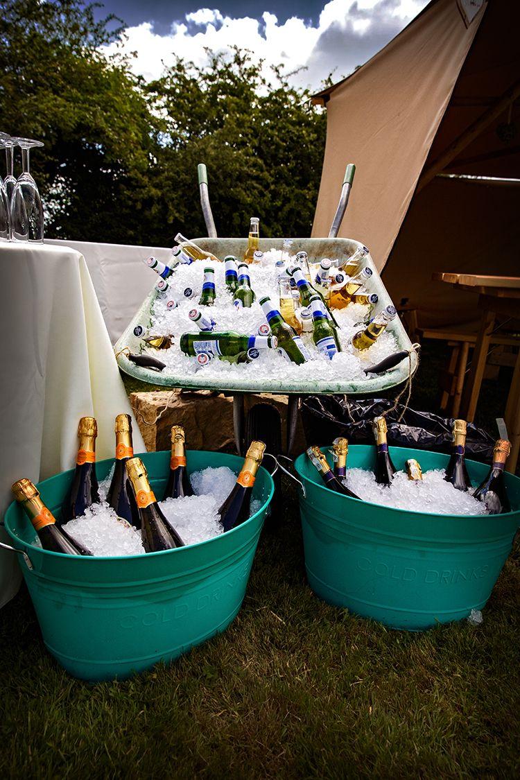 Outdoorsy Garden Rustic Tipi Wedding | Garden party ...