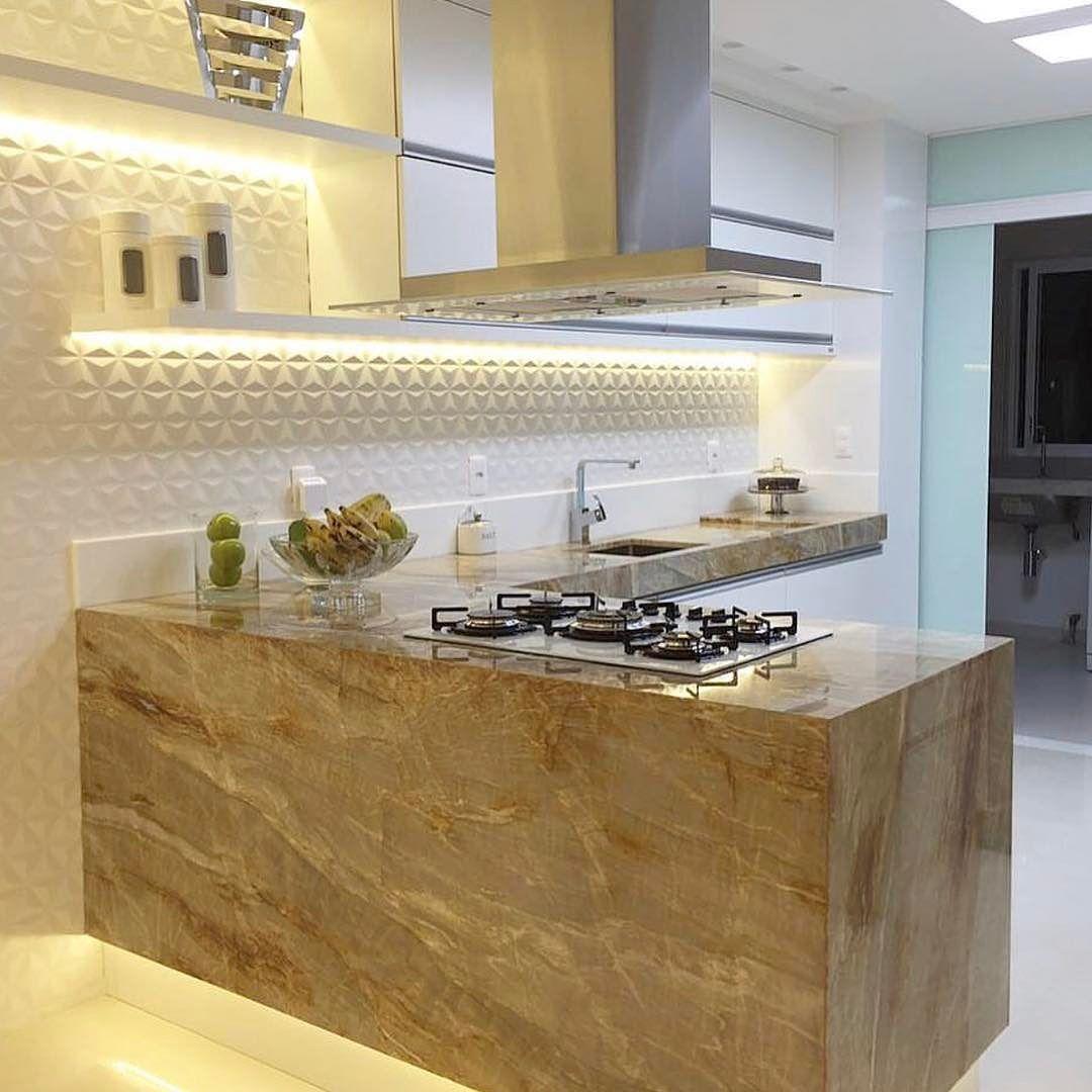 Cozinha Maravilhosa A Composi O Em Ilha Uma Tima Op O Para