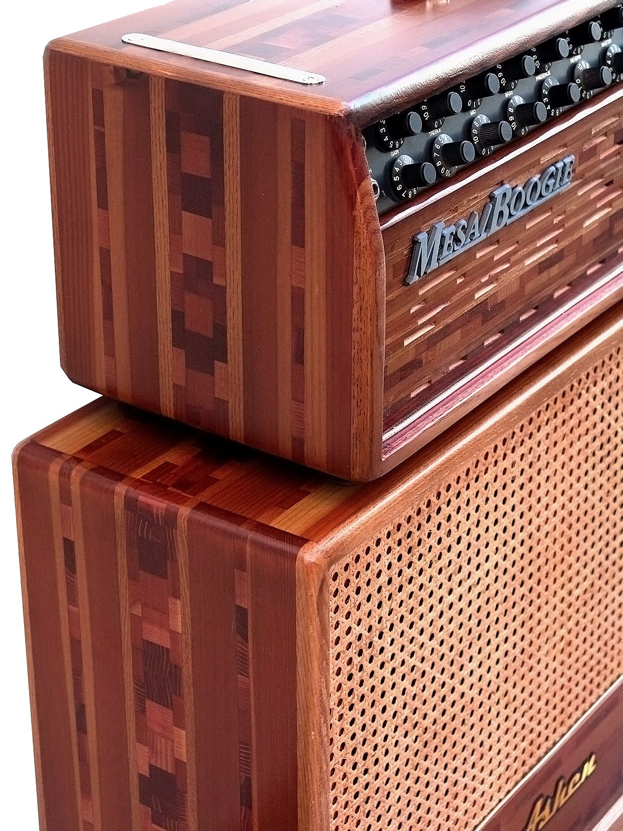 Mesa Boogie Dc 10 Customized By Ashen Amps With Matching Ashen 212 Cabinet Diy Guitar Amp Boutique Guitar Guitar Cabinet