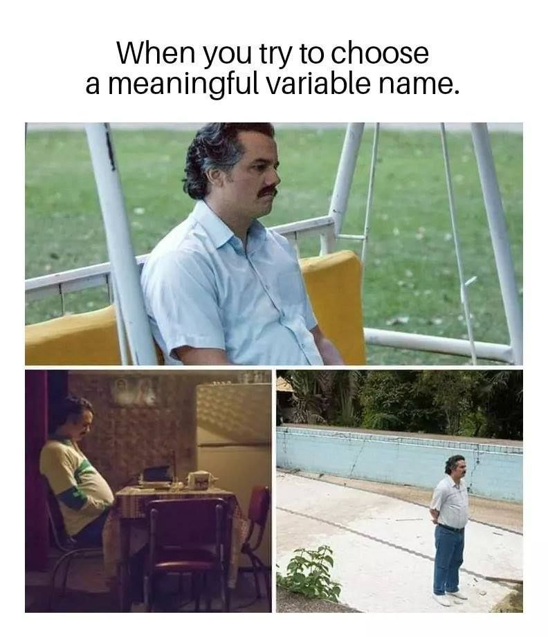 Image result for meaningful names memes
