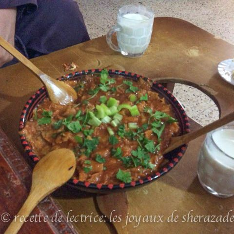 Zviti slata mehress recette traditionnelle alg rienne recipe oriental yummy food and salad - Cuisine algerienne traditionnelle ...