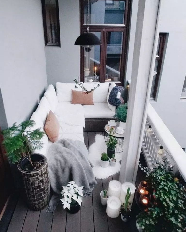✔67 genius first apartment decorating ideas on a budget 27 ~ aacmm.com Balcony