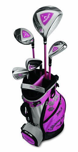 Review Callaway X Series Junior Set Right Hand Girl S Age 9 12 Junior Sets Golf Girls Golf Clubs