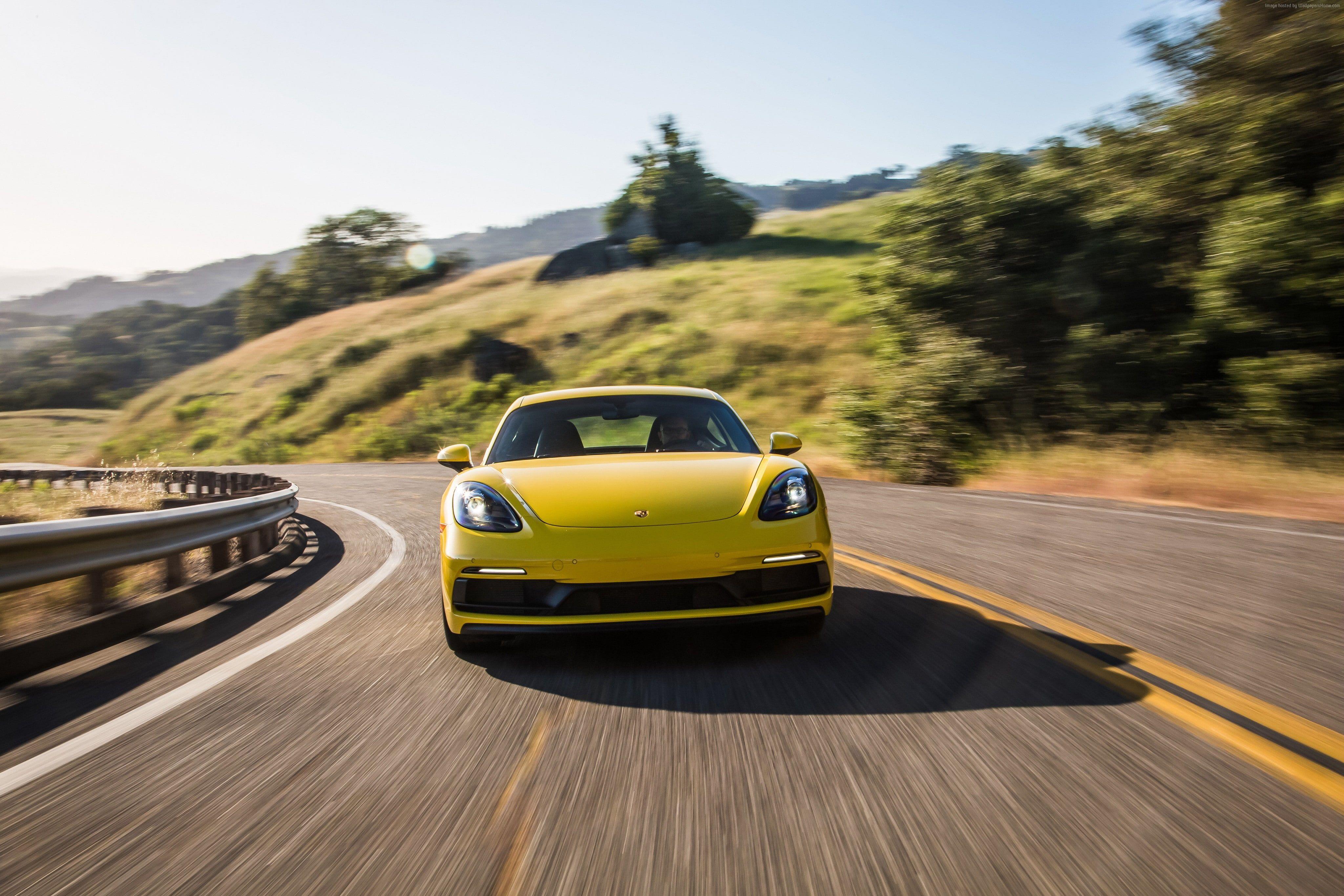 2019 Cars 4k Porsche 718 Cayman Gts 4k Wallpaper Hdwallpaper Desktop