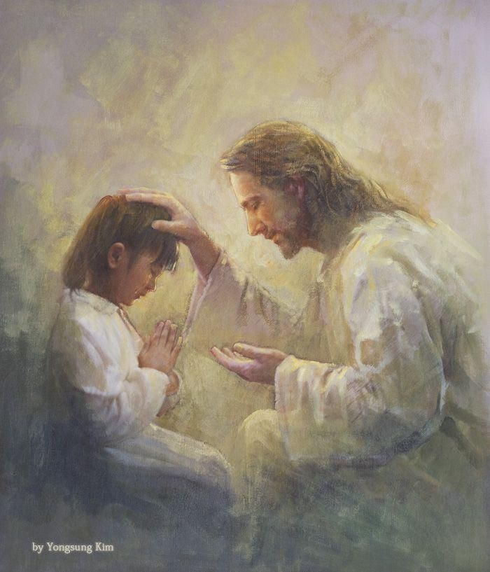 Prayer of Love, Painting by Yongsung Kim   Christ   Church of Jesus Christ   Image of Christ   Latter Day Saint   LDS   Come Follow Me   Jesus Christ   Savior   Book of Mormon   Share Goodness   Lds.org   LDS Artwork   Well Within Her  #churchofjesuschrist #jesuschrist #christ #savior #sharegoodness #latterdaysaint #lds #comefollowme #wellwithinher