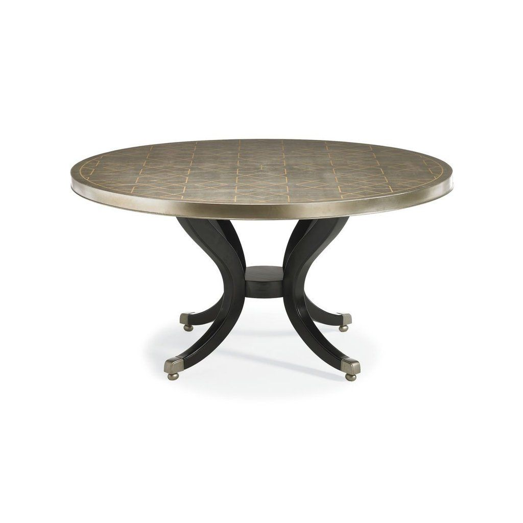 Caracole Center Of Attention Dining Table With Images Dining
