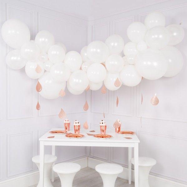 Baby Shower Balloon Cloud Garland V 2018 G Dekoracii Idei