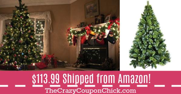 super hot artificial 6 ft tall pre lit christmas tree only - Pre Lit Christmas Trees Amazon