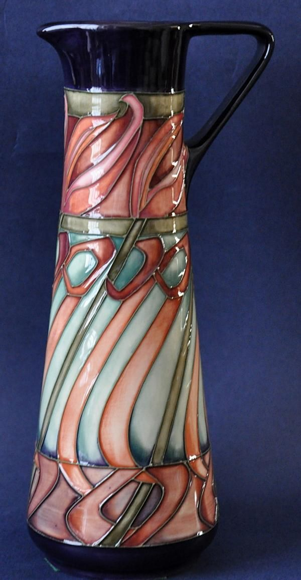 Moorcroft Pottery Tulip Weaver Jug