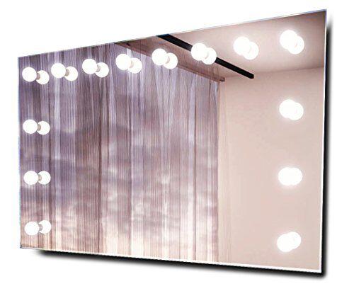 14 x 3 Watt LED-Cluster (enthalten) Fernbedienung Interne 240-Volt - badezimmerspiegel mit led