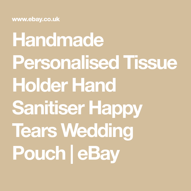 details about handmade personalised tissue holder hand on disinfectant spray wall holders id=84648