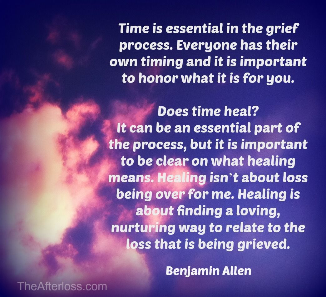 Quote About Healing After Death
