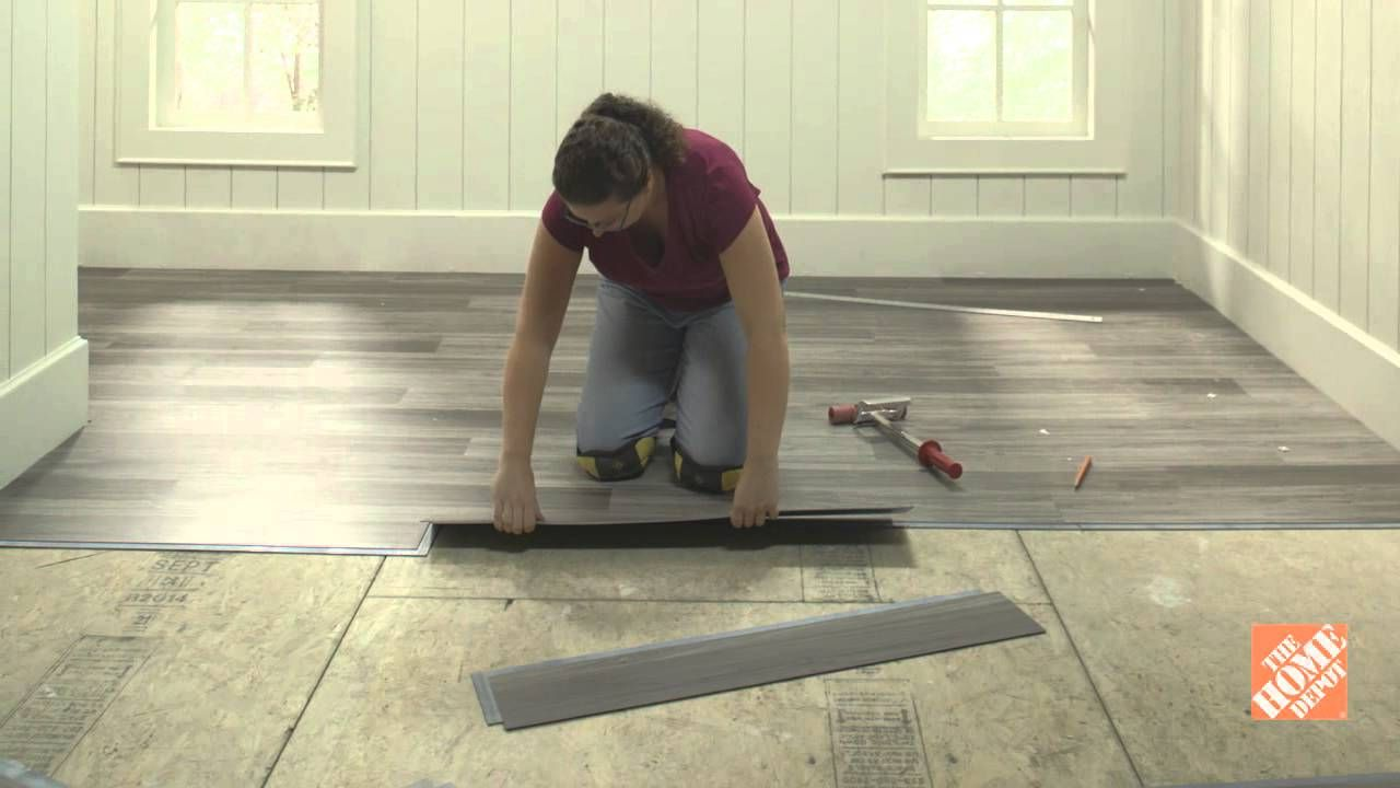 Vinyl flooring installation surface preparation diy for Preparing floor for vinyl