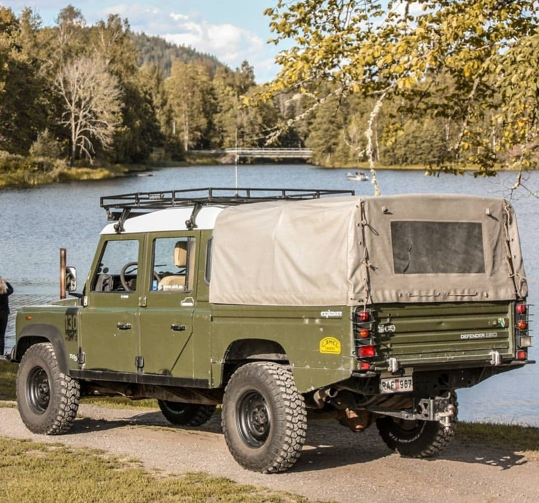 Land Rover Td5 Defender 130 Double Cabin Canvas | Land rover