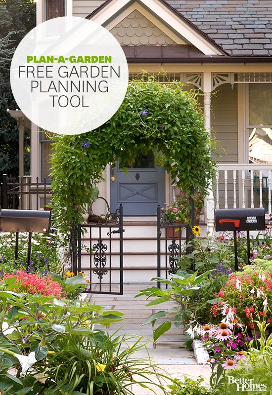 Plan out your landscaping with BHG\'s Plan-a-Garden tool: http://www ...