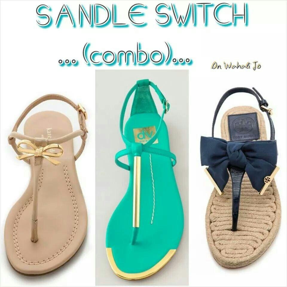 Sandle combo ... #fashionism on WJBF