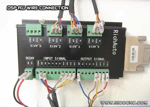 Dsp A11 Wire Cable Connection Cnc Controller Cnc Machine Tools Wire