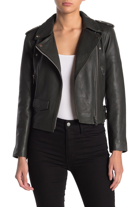Walter Baker Liz Leather Moto Jacket in 2020 Moto