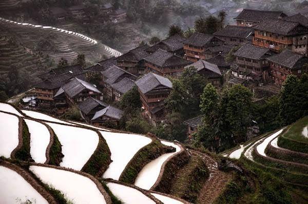 Mountain Village China