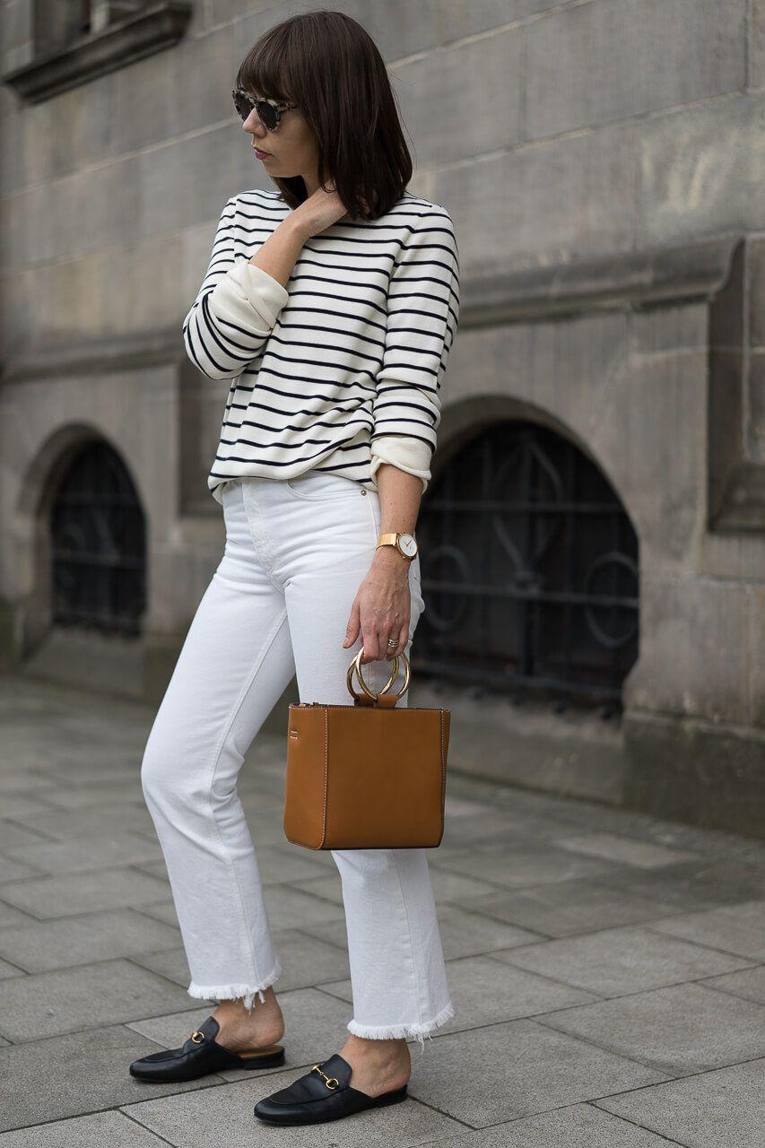 wei e jeans kombinieren pflegetipps f r denim in wei outfits modeblog sarahvonh. Black Bedroom Furniture Sets. Home Design Ideas