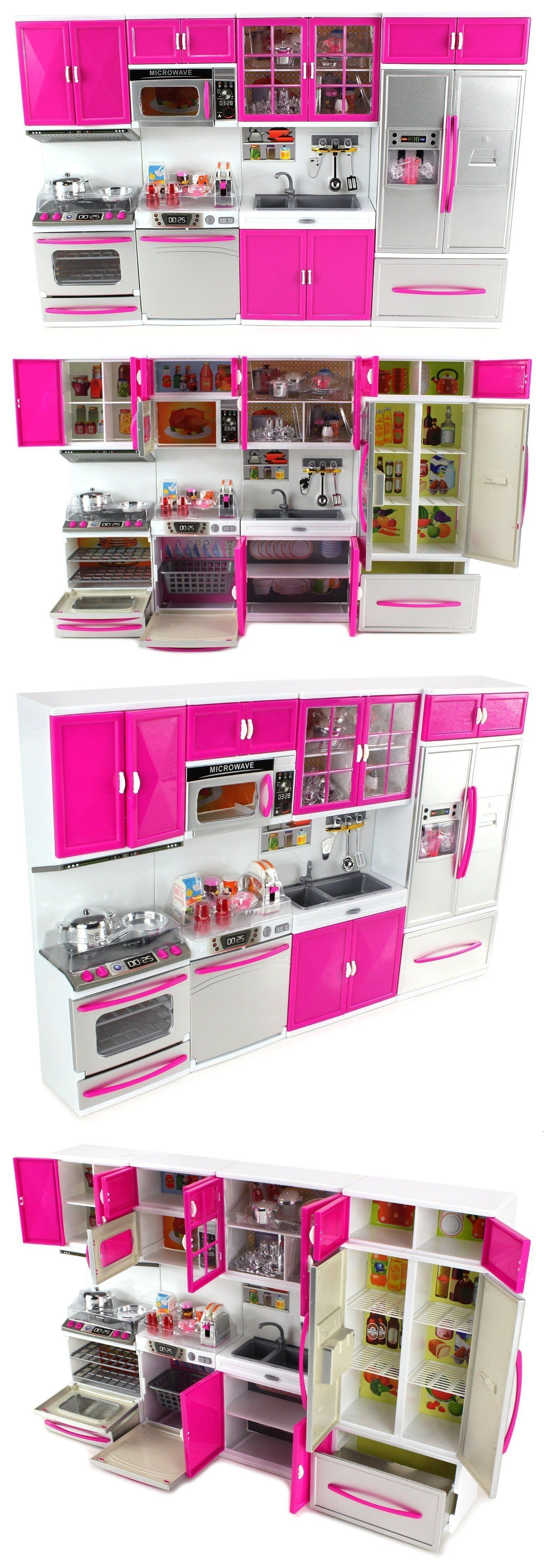 Toys for kids kitchen set  Kitchens  Envo Toys Large Kitchen Play Set Toy Pretend Play