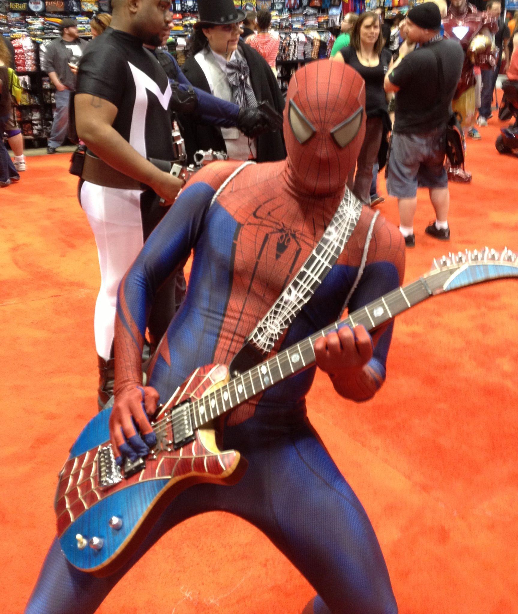 spider man shredding spider man guitar pinterest spider man