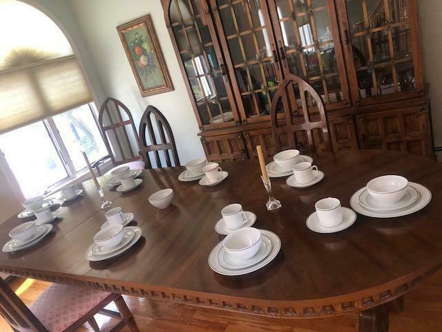 Better Homes & Gardens Rockport Reactive Dinnerware 16 Piece