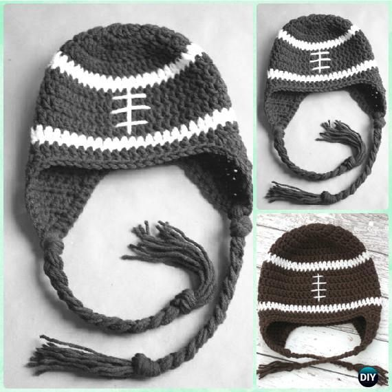 DIY Crochet EarFlap Hat Free Patterns