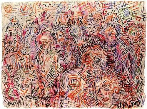 Different Types Of Lines In Art Drawing : Vasiliy tsabadze art abstract contemporary pluralism