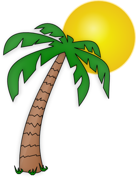 Nice Palm Tree Clip Art Transparent Background | Clipart Panda   Free .